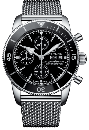 BREITLING SUPEROCEAN HERITAGE II Chronograph 44 A13313121B1A1  - 1