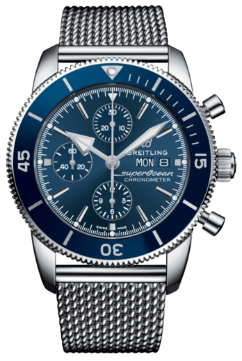 BREITLING SUPEROCEAN HERITAGE II Chronograph 44 A13313161C1A1  - 1