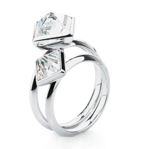 Brosway prsten 2v1 Polar BPL31