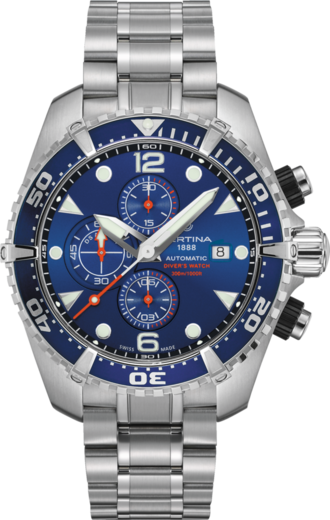 Certina DS Action Diver C032.427.11.041.00 Chrono Auto