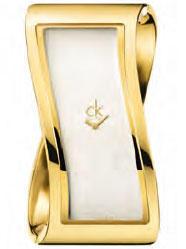 Calvin Klein Pensive PVD žluté vel.M K1T23501