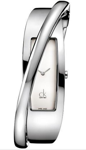 Calvin Klein Feminine stříbrný čílseník vel.M K2J23101 - 1