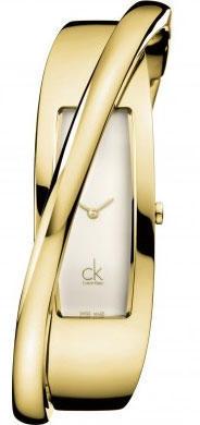 Calvin Klein Feminine PVD žluté vel.M K2J23501 - 1