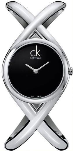 Calvin Klein Enlace černý čísleník