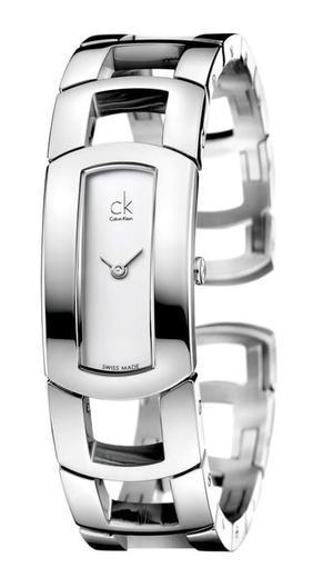 Calvin Klein Dress stříbrný číselník  - 1
