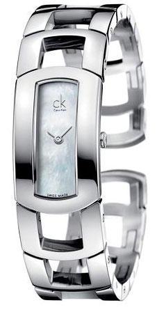 Calvin Klein Dress bílá perleť vel.S K3Y2S11G - 1
