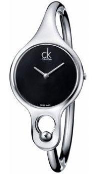 Calvin Klein Air černý číselník vel.S K1N23102