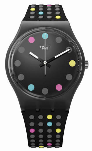Swatch hodinky GB305 BOULE A FACETTE  - 1