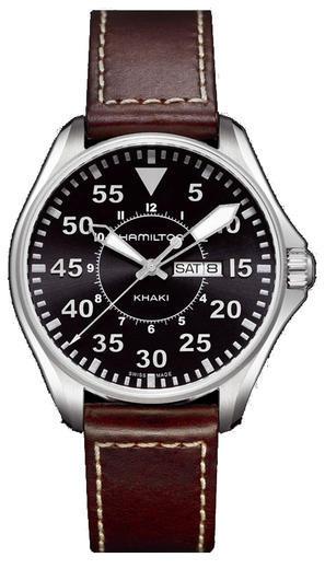 HAMILTON Khaki King Pilot Day Date H64611535  - 1