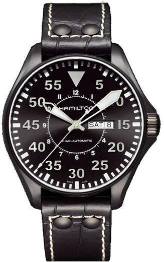 HAMILTON Khaki King Pilot Day Date H64785835