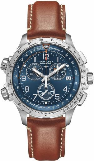 HAMILTON Khaki Aviation X-Wind GMT Chrono H77922541  - 1
