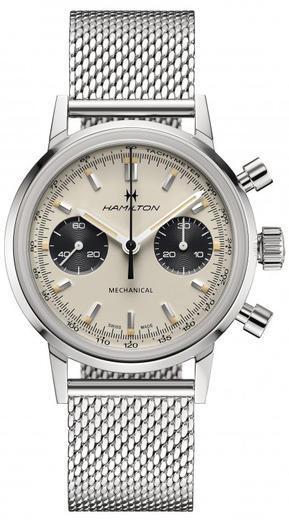 HAMILTON American Classic Intra-Matic Chronograph H H38429110  - 1