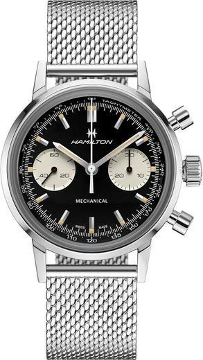 HAMILTON American Classic Intra-Matic Chronograph H H38429130  - 1