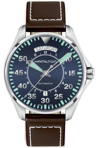 HAMILTON Khaki Aviation Day Date Auto H64615545  - 1