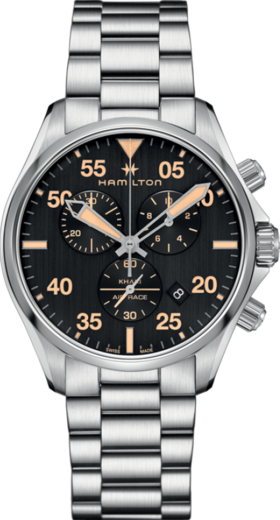 Hamilton Khaki aviation Chrono H76722131  - 1
