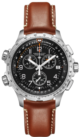HAMILTON KHAKI Aviation X WIND GMT Chrono H77912535  - 1