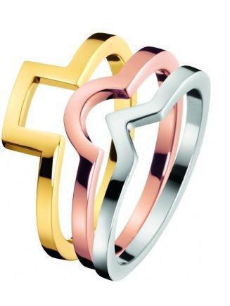 Calvin Klein prsteny 3v1 Wonder KJ4VDR3001  - 1