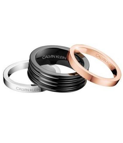 Calvin Klein prsteny 3v1 Blast KJ7MBR3001  - 1