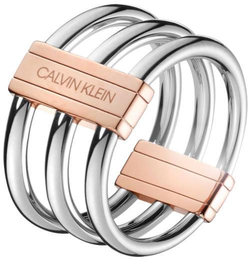 CALVIN KLEIN In Sync prsten KJBDPR200  - 1