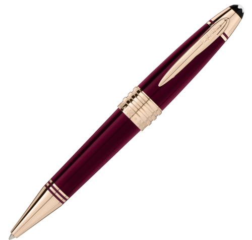MONTBLANC John F. Kennedy Special Edition Burgundy Ballpoint Pen 118083  - 1