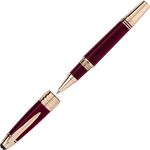 MONTBLANC John F. Kennedy Special Edition Burgundy Rollerball 118082  - 1