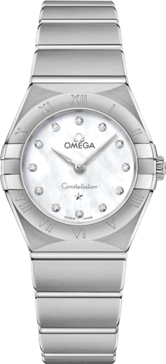 Omega Constellation Manhattan Quartz 25 mm 131.10.25.60.55.001  - 1