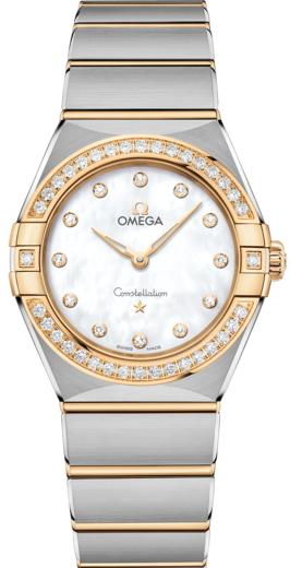 Omega Constellation Manhattan Quartz 28 mm 131.25.28.60.55.002  - 1