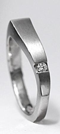 Platinový prsten PT5