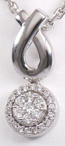 Zlatý přívěšek s diamanty P53