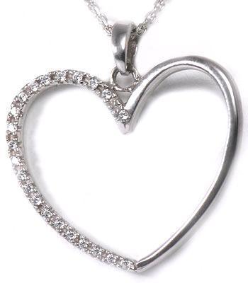 Zlatý přívěšek srdce P86