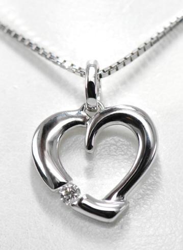 Zlatý přívěšek srdce P122