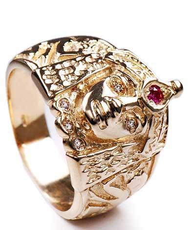 Zlatý prsten Kleopatra P834  - 1