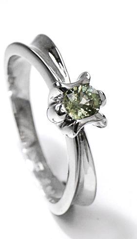 Zlatý prsten se safírem P901