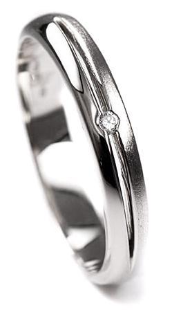 Zlaté snubní prsteny S39