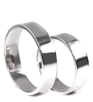 Zlaté snubní prsteny S40  - 1