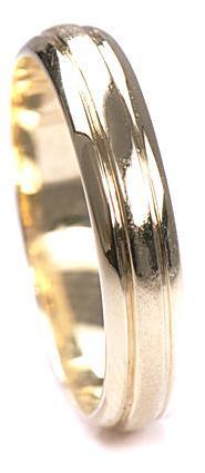 Zlaté snubní prsteny S41