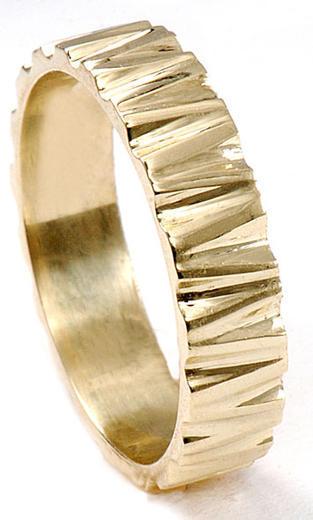 Zlaté snubní prsteny S67