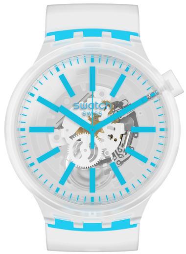 SWATCH hodinky SO27E105 BLUEINJELLY  - 1