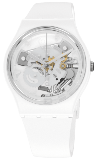 SWATCH hodinky SO31W102 SPOT TIME WHITE  - 1