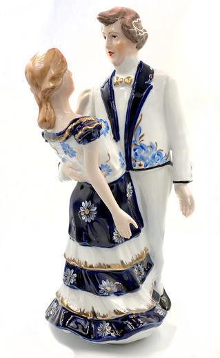 Socha Milenci porcelán 25380  - 1