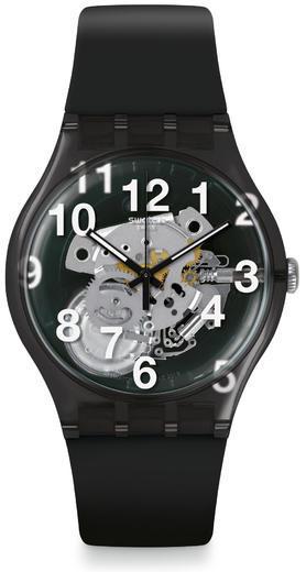 SWATCH hodinky SUOK135 BLACK BOARD  - 1