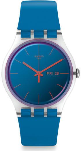 SWATCH hodinky SUOK711 POLABLUE  - 1