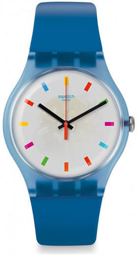 SWATCH hodinky SUON125 COLOR SQUARE  - 1