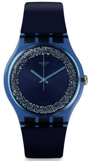 SWATCH hodinky SUON134 BLUSPARKLES  - 1