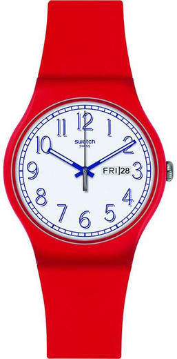 SWATCH hodinky SUOR707 RED ME UP  - 1