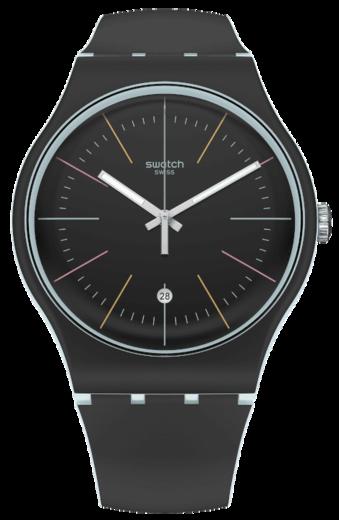 SWATCH hodinky SUOS402 BLACK LAYERED  - 1