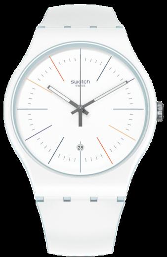 SWATCH hodinky SUOS404 WHITE LAYERED  - 1
