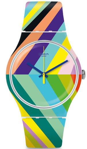 SWATCH hodinky SUOW155 PSYCADELIC  - 1