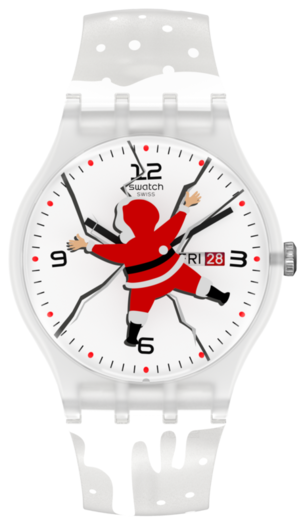 SWATCH hodinky SUOZ717 HoHoOUCH  - 1