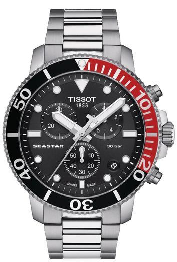 TISSOT SEASTAR 1000 CHRONO T120.417.11.051.01  - 1